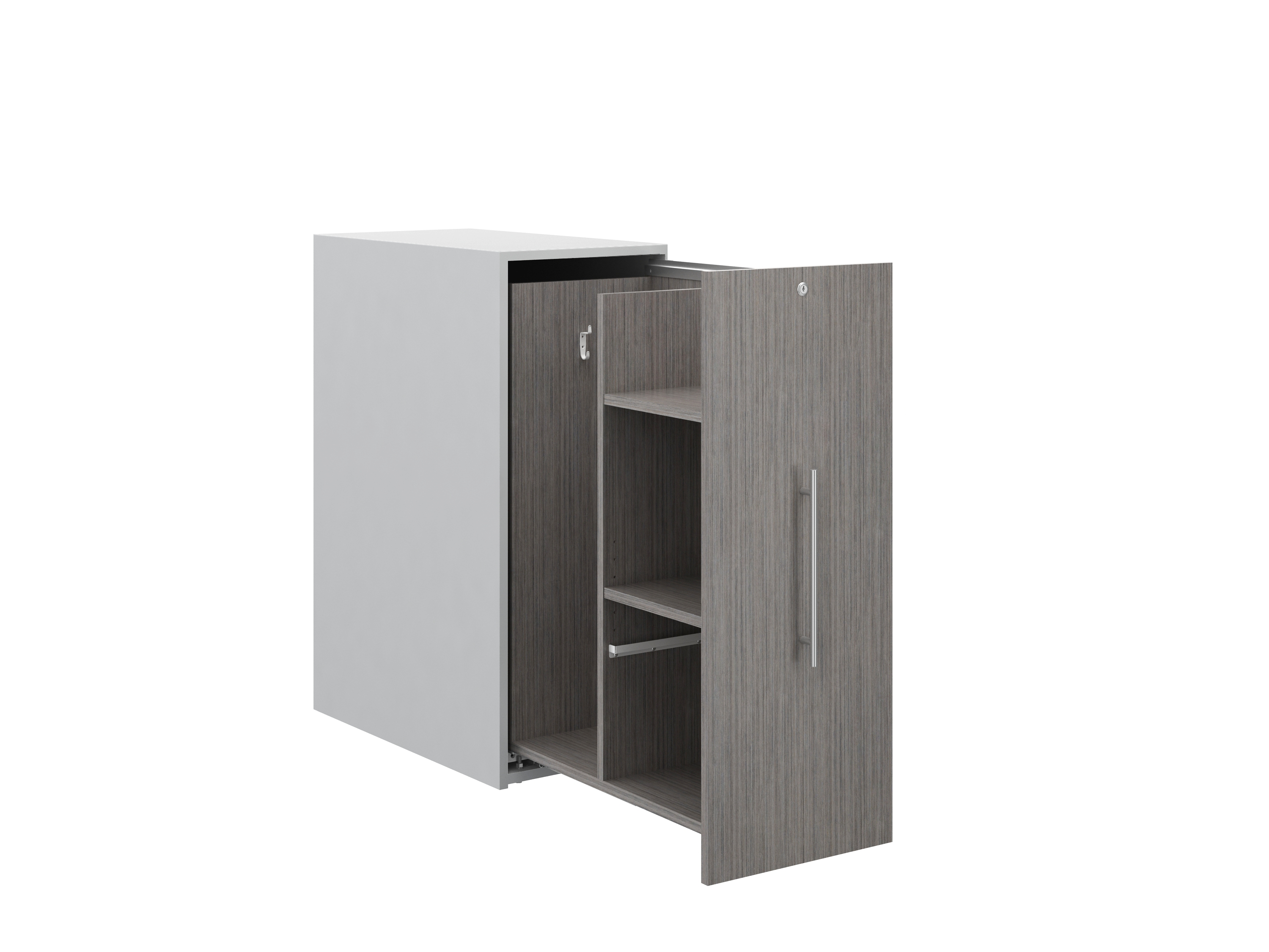Calibrate 42 inch tall pullout storage