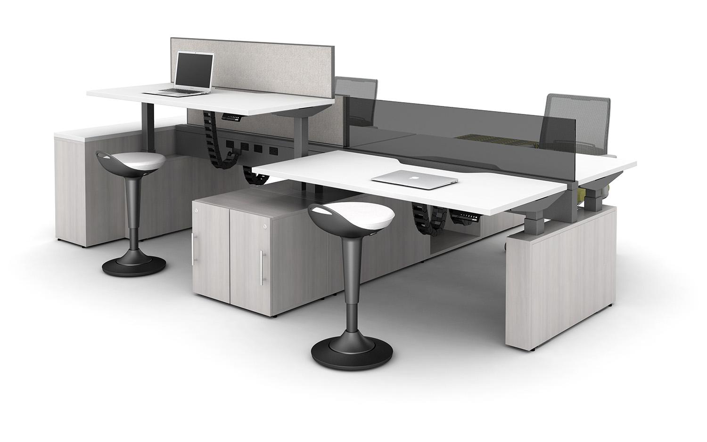 Aloft Height Adjustable Desking   AIS