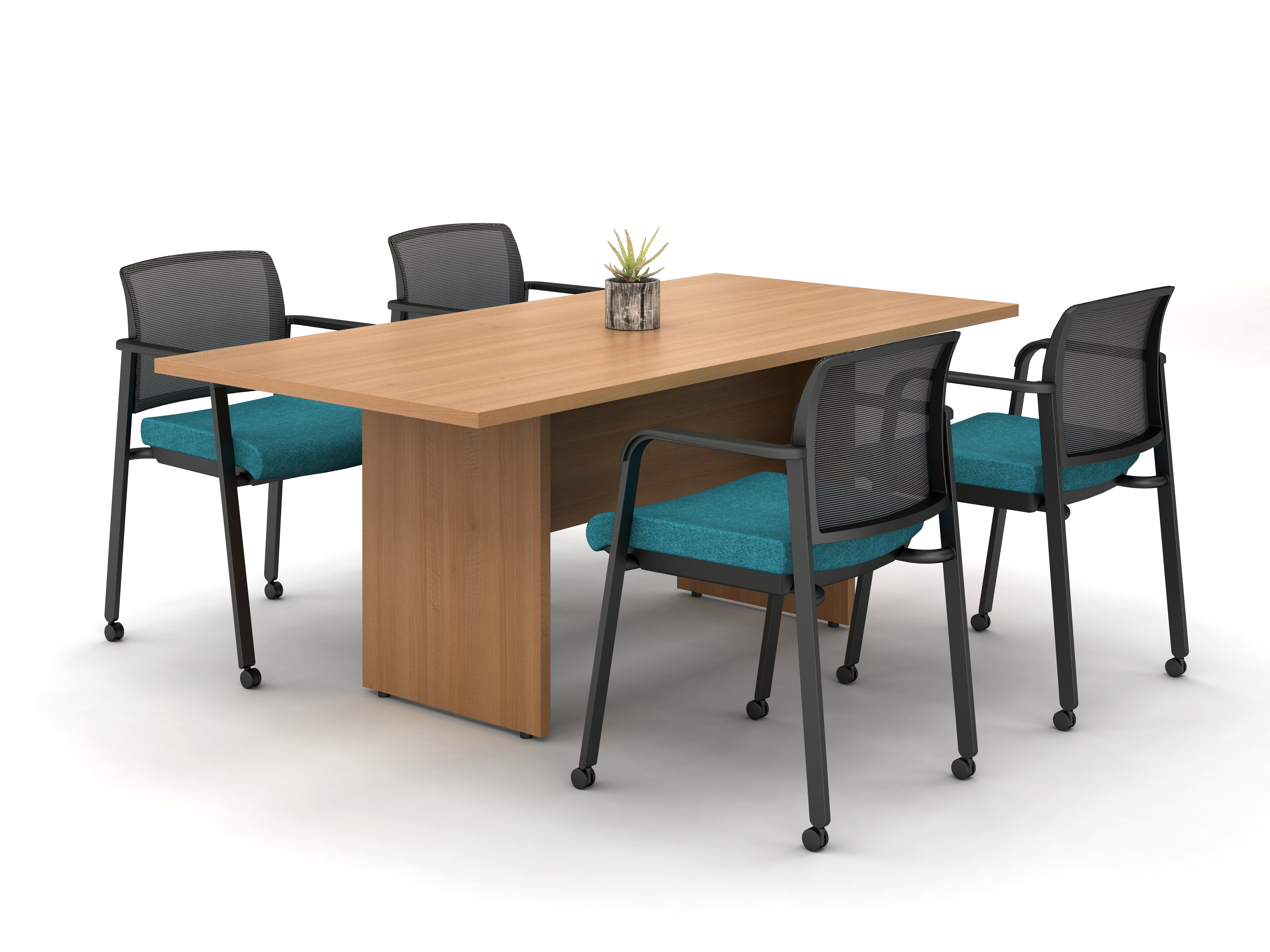 Calibrate Table with Recessed Panel
