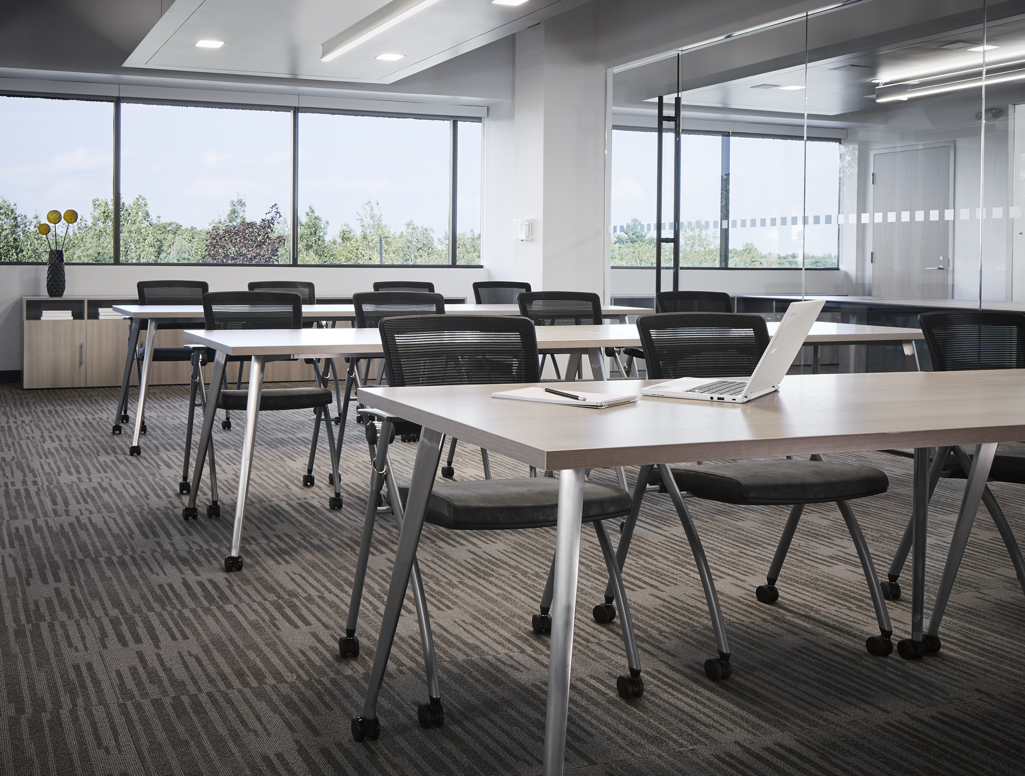 Day-to-Day Training Tables with Stow Seating