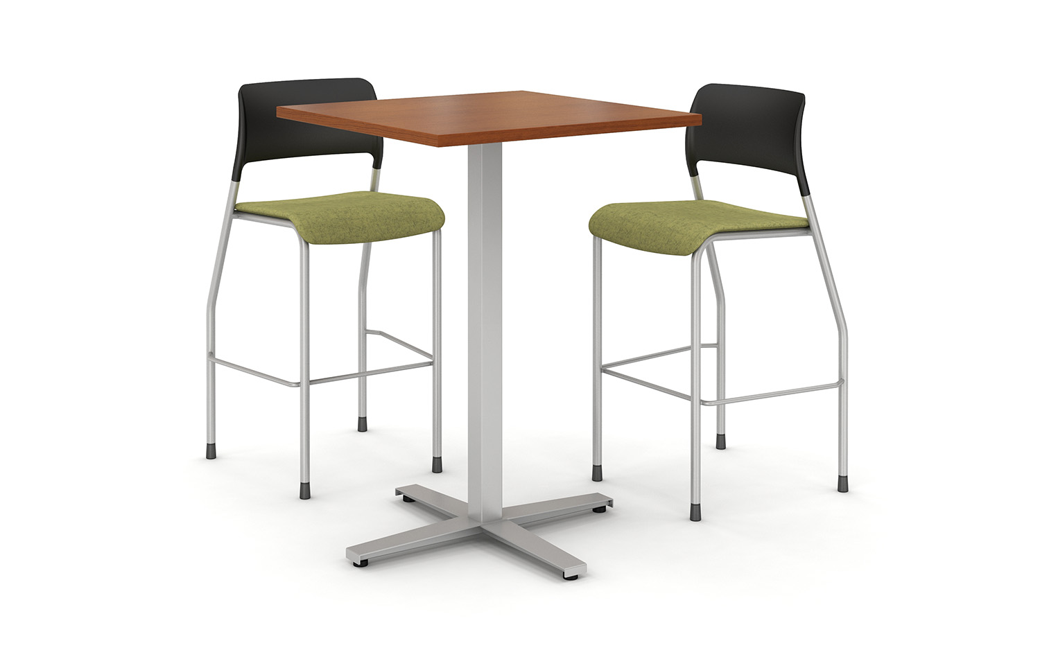 Pierce Stool with High-top Day-to-Day table
