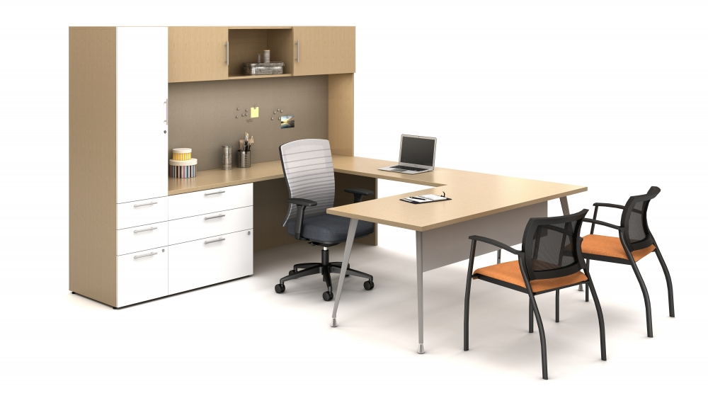 Calibrate Private Office with mixed laminates