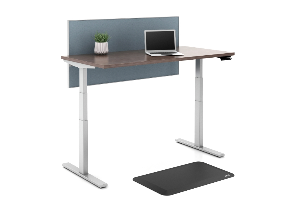 Height Adjustable Table with AIS anti fatigue mat