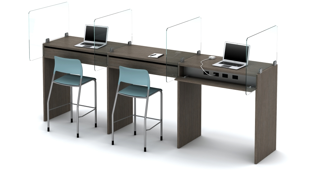 Standing Height Touchdown Workstations