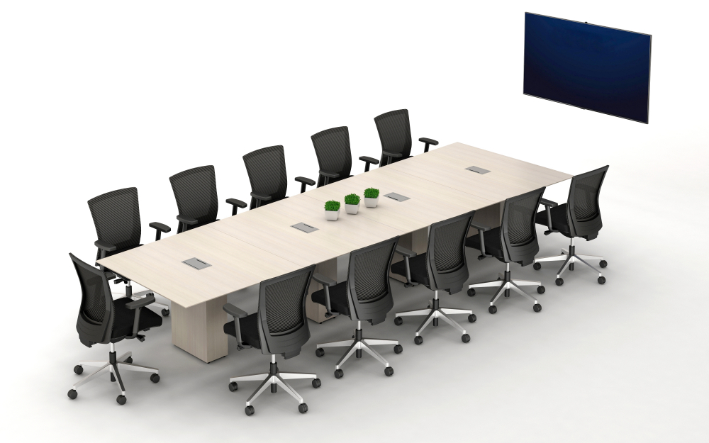 Calibrate Conference 4-base, Powered Tapered Table