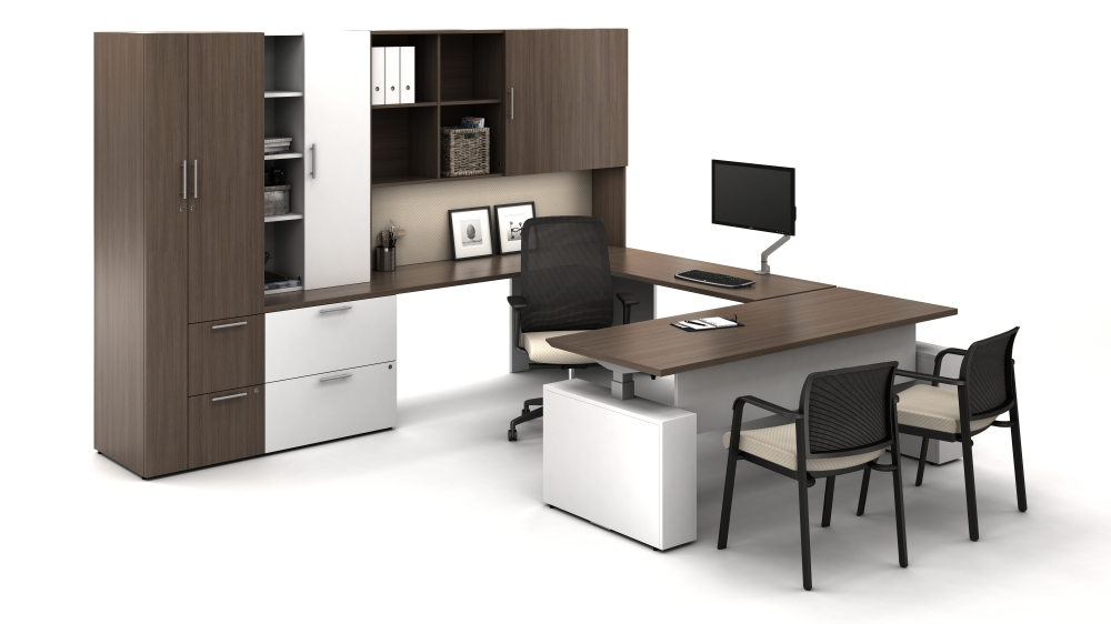 Height Adjustable Executive Desk