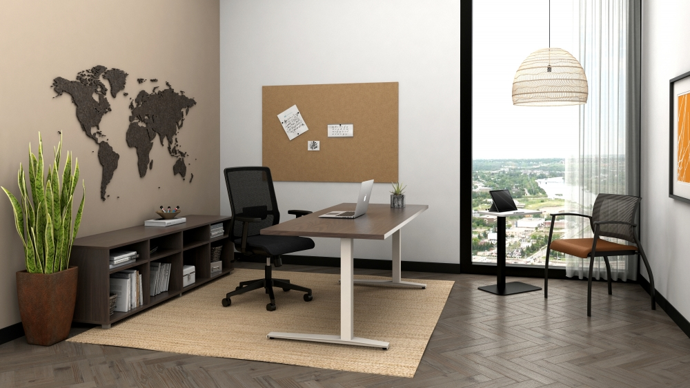 Essex with Day-to-Day Height Adjustable Table