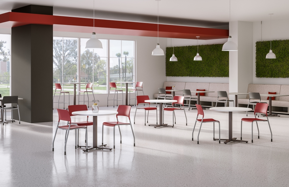 Day-to-Day Tables with Pierce Seating