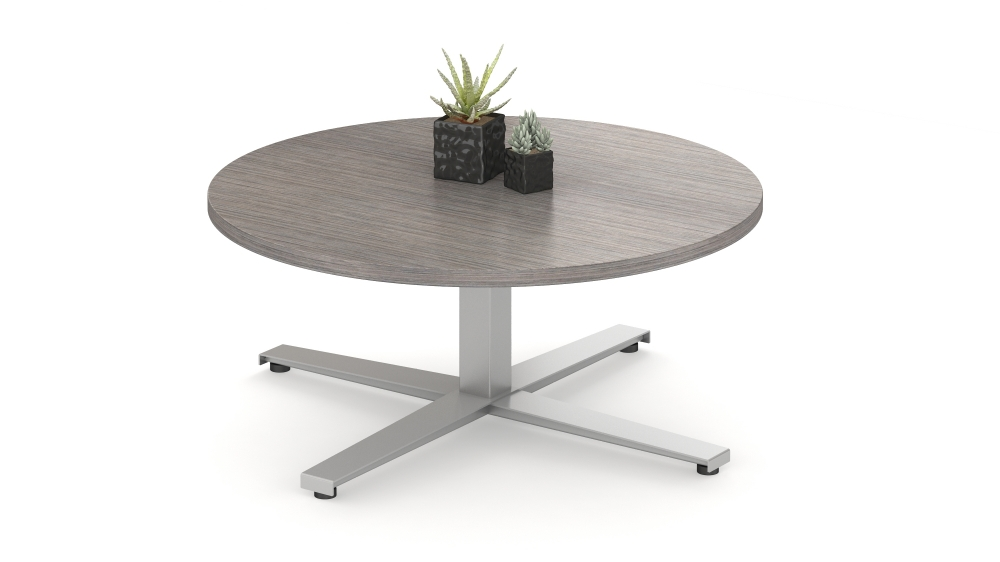 Day to Day Table with Steel X Base