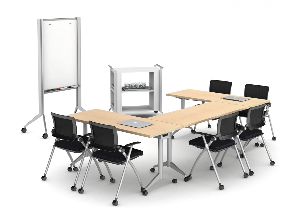 Hospitality Cart in Medium Training Room