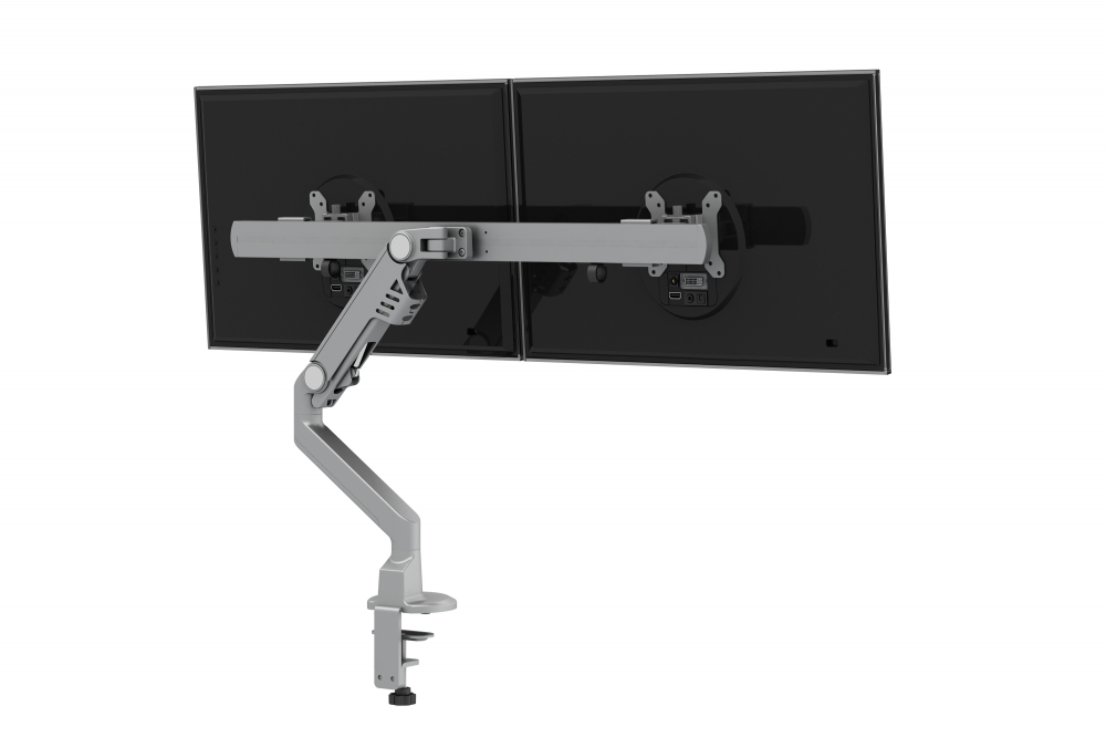 Monitor Arms for Shallow Depth Worksurfaces