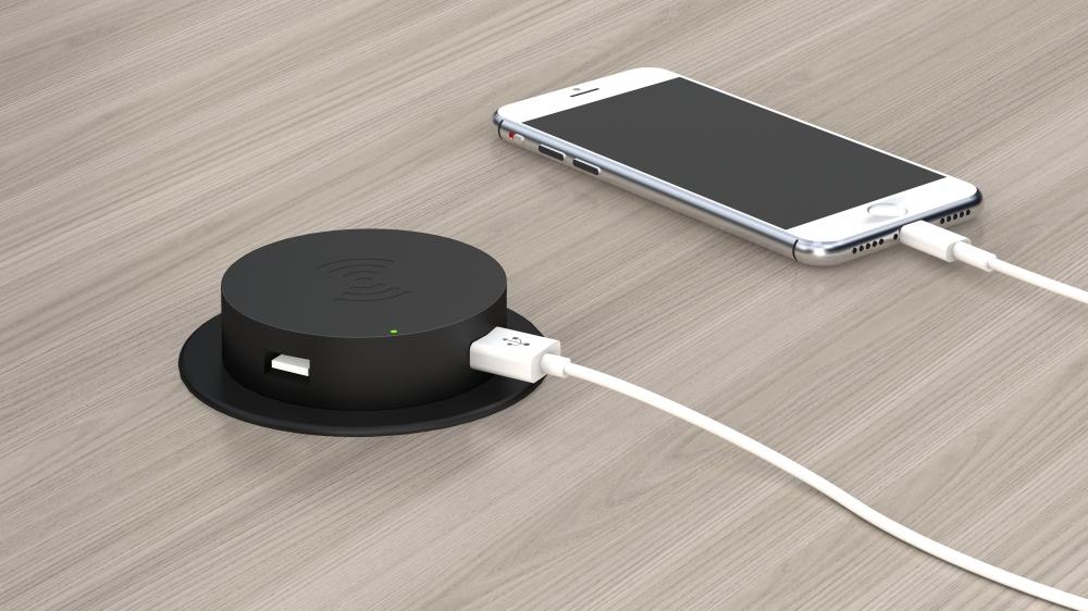 Wireless Power with usb ports
