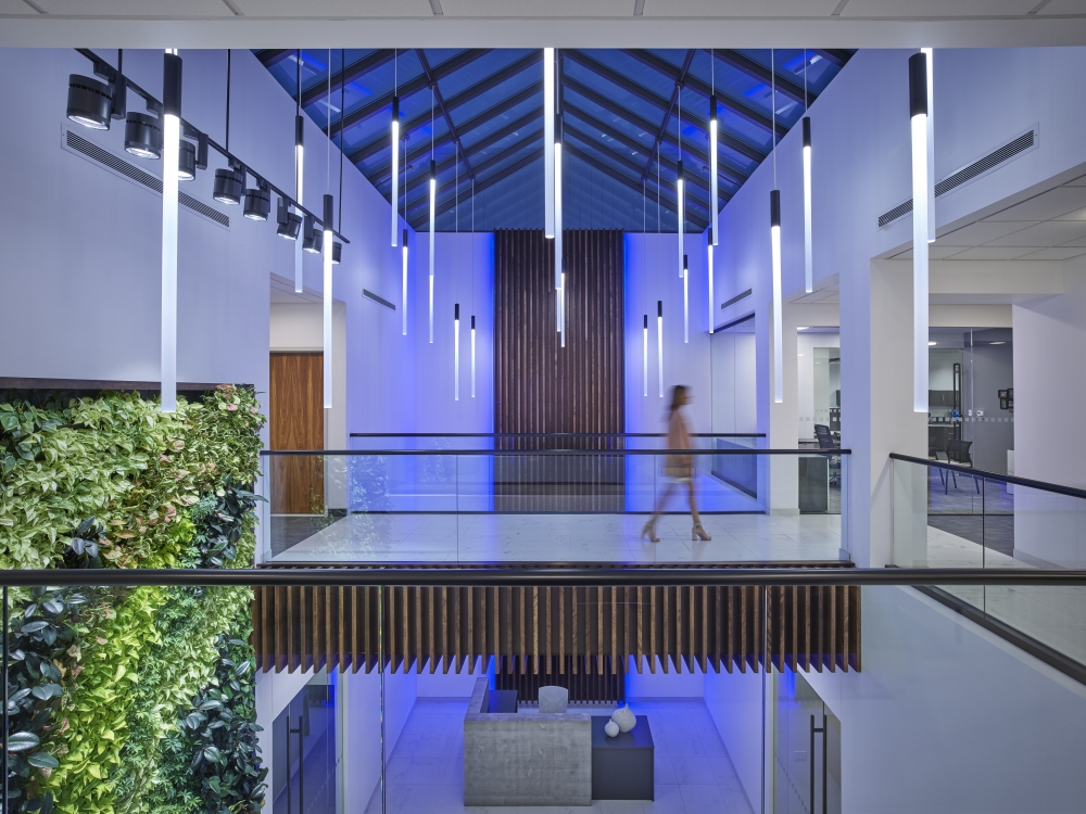 Atrium at AIS Headquarters