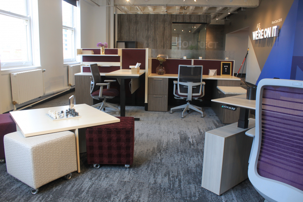 Chicago Showroom Divi and Volker Cubes