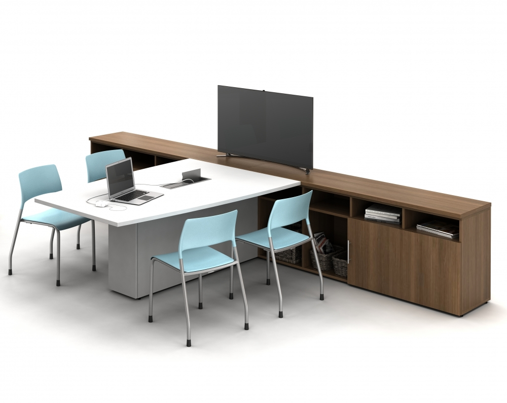 Informal Conference Solution with Calibrate Conferencing and Pierce Seating