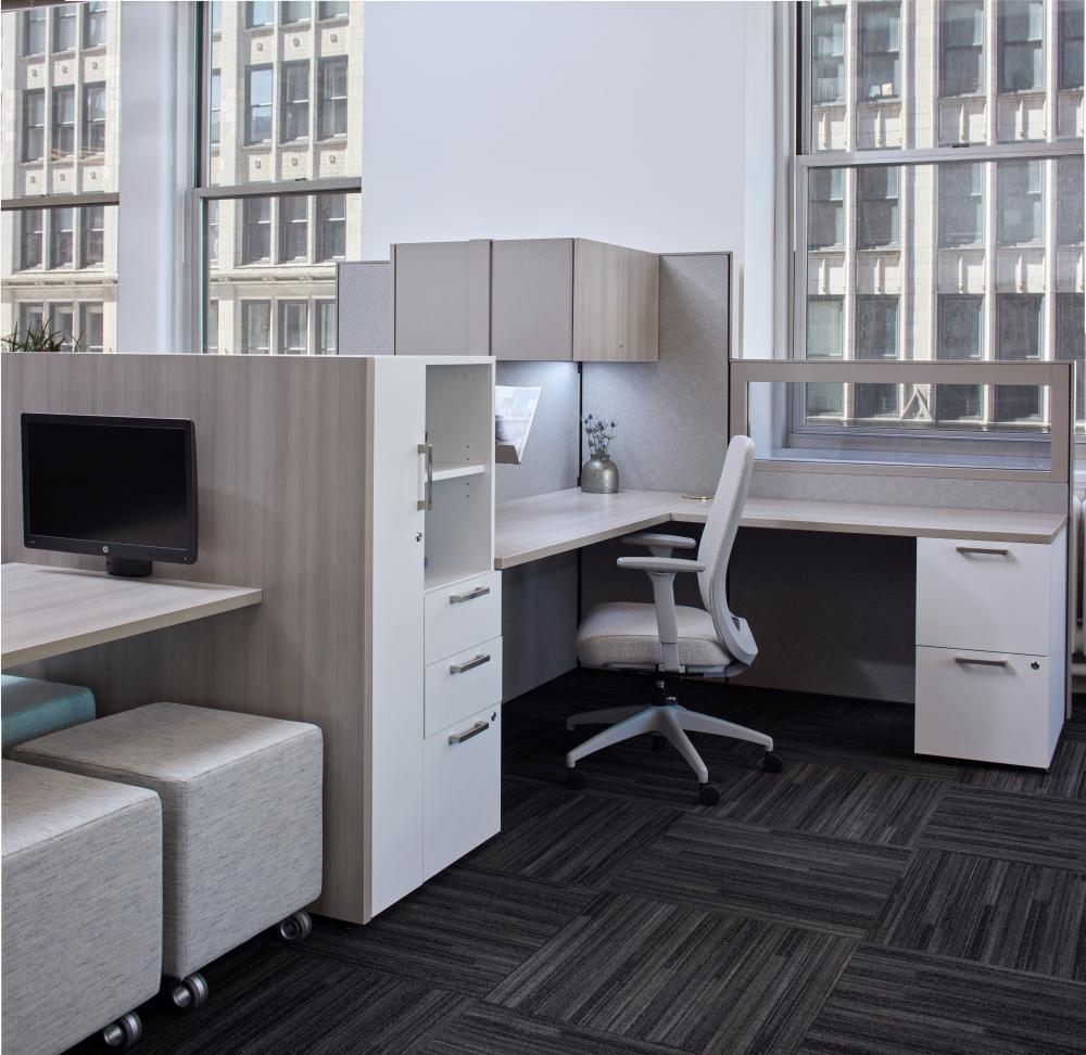 Matrix Workstation in the New York Showroom
