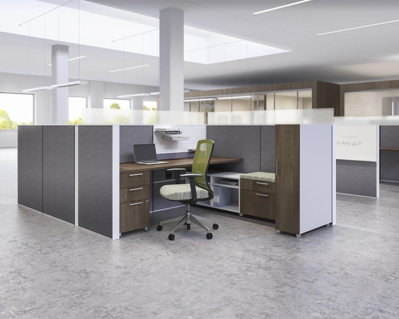 Matrix semi-private workspace