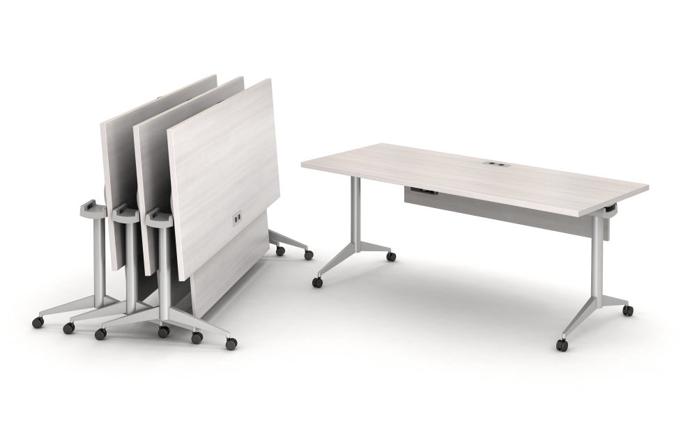 Day-to-Day Flip Tables with integrated power